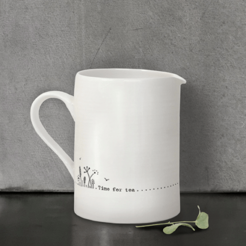 East Of India Time For Tea Jug