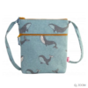 Small Canvass Cross Body Bag. Whale