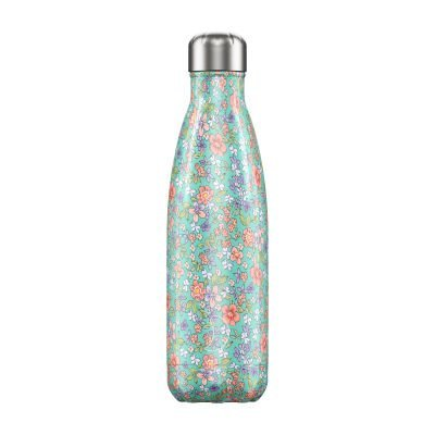 Chilly Bottle 500ml Floral Peony
