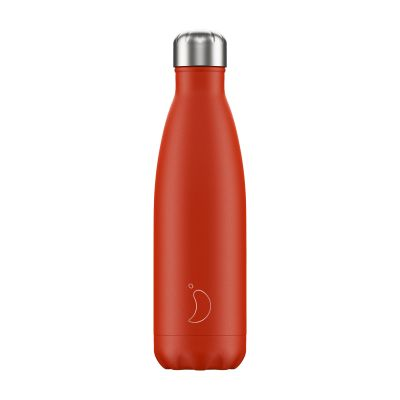 Chilly Bottles 500ml Neon Red