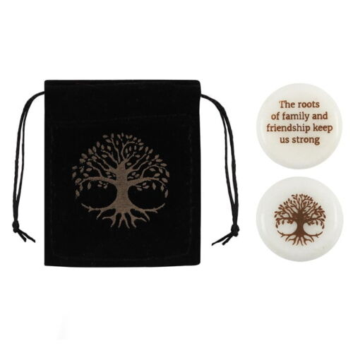 Tree of Life Lucky Charm in purse with saying