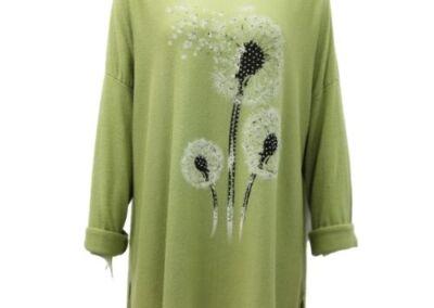 Top Knit Soft Dandelion Ladies
