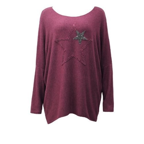 Top Knit Soft Srar Women'