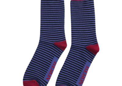 Mr Heron Men's bamboo Socks. Stripes