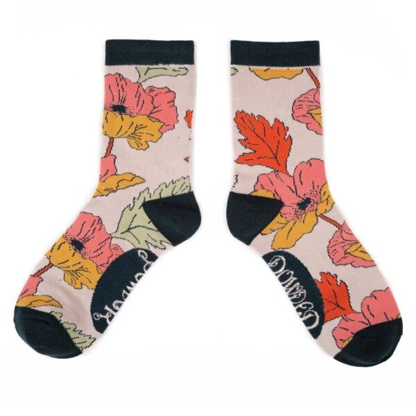 Powder Design Bamboo Socks Poppy