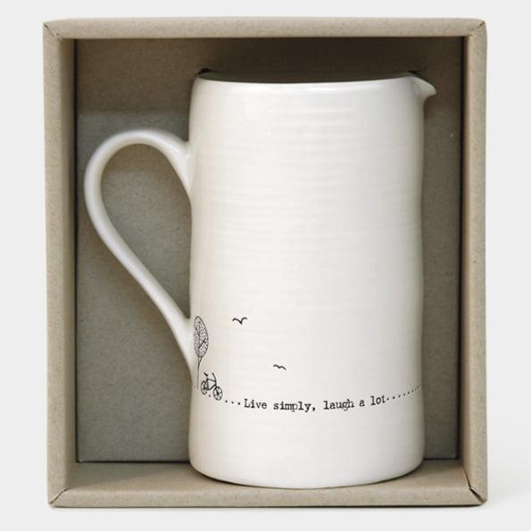 East Of India Porcelain Jug Boxed