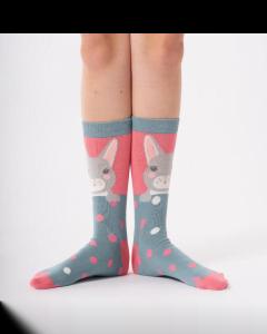 Miss Sparrow Ladies Bamboo Socks, Rabbits