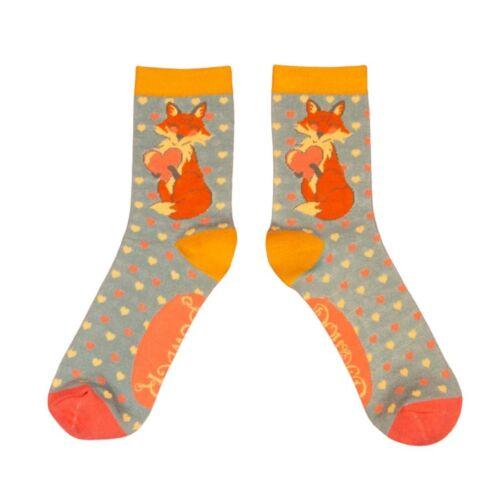 Powder Bamboo Socks. Sexy Fox,
