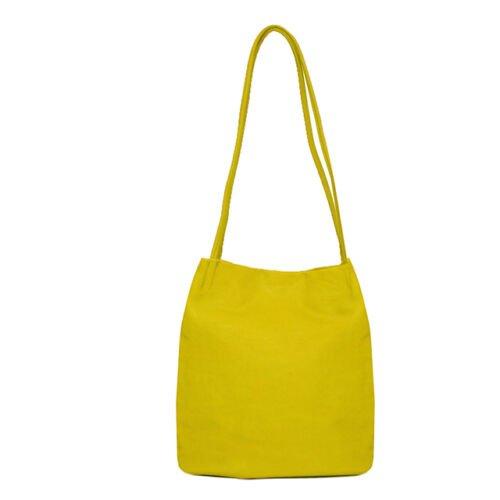 Long strappy shoulder Bag. Lime