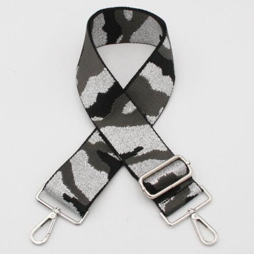 Grey Camouflage Bag Strap