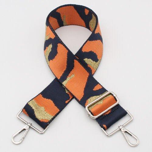 Orange Camouflage Bag Strap