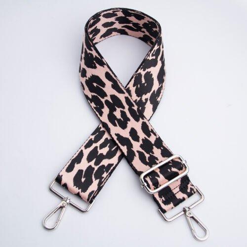 Bag Strap Leopard Pink