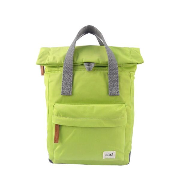 Canfield Small Lime backpack by Roka