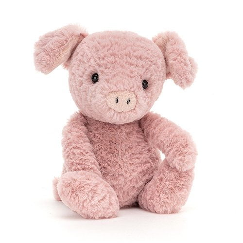 Tumbletuft pig by Jellycat