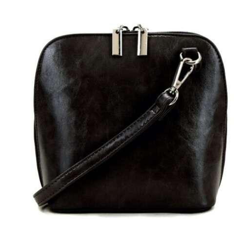 Small Crossbody Handbag. Black