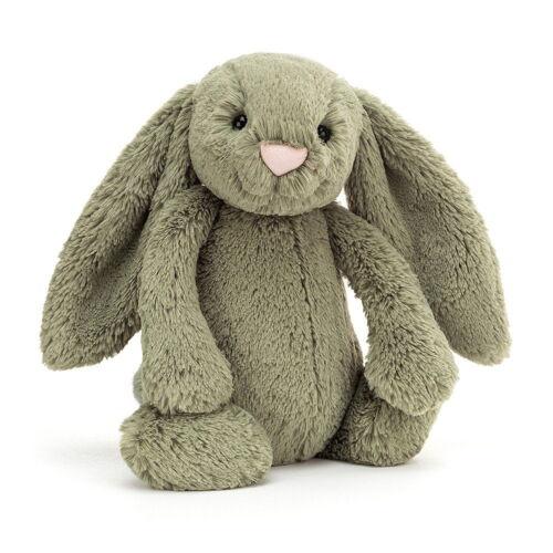 Jellycat Medium Bashful Bunny, Fern