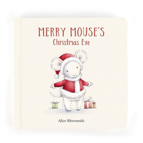 jellycat Merry Mouse's Christmas Book