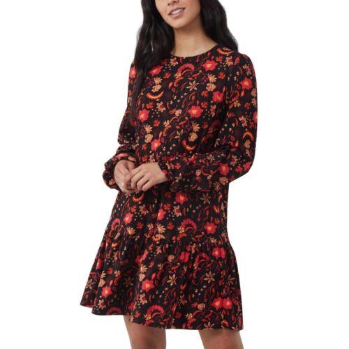 Mini Dress With Tiered Hem