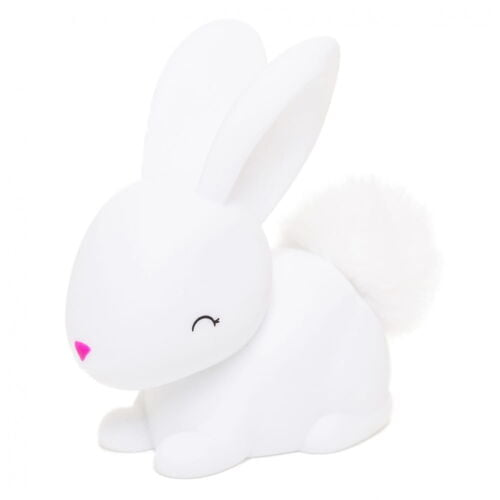 Colour changing bunny night light