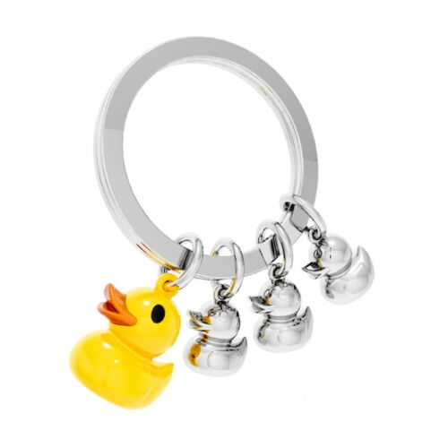 Key ring with A family Of Ducks