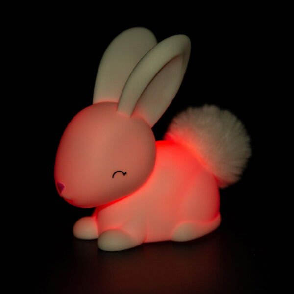 Colour changing night light. Bunny