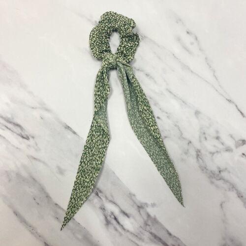 Hair Scrunchie in green