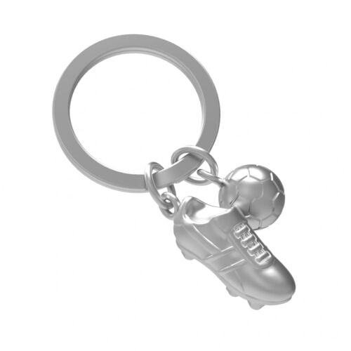 Keyring with Football and Boot